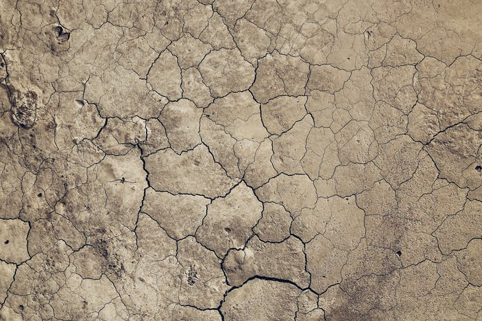 """Biophilic inspiration: dry soil with a colour recalling Brave Ground.<span class=""""sr-only""""> (opened in a new window/tab)</span>"""