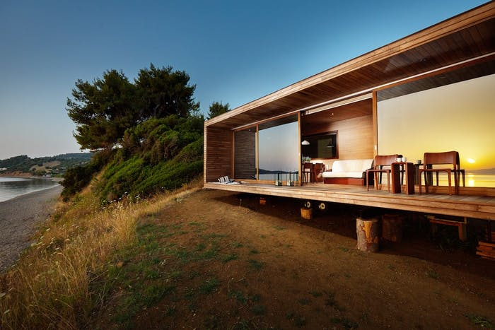 """Tiny house on the beach.<span class=""""sr-only""""> (opened in a new window/tab)</span>"""