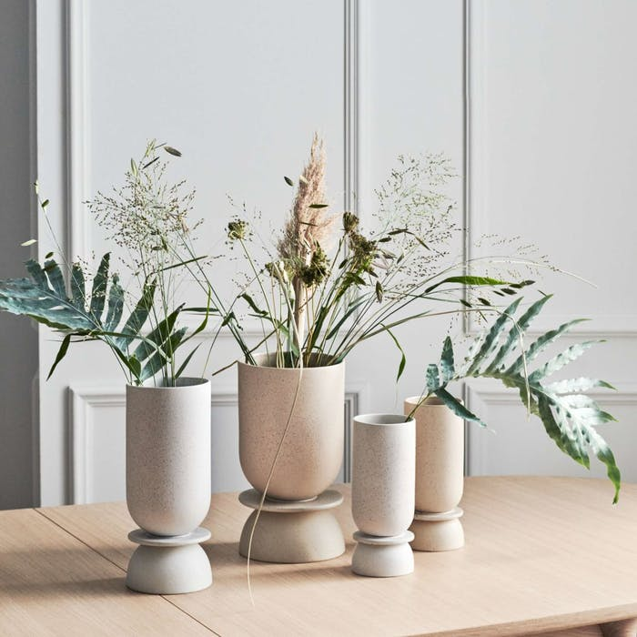 """Branches and leaves arranged in several vessels in an apparent disorder.<span class=""""sr-only""""> (opened in a new window/tab)</span>"""