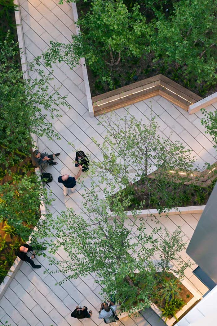 """Biophilic city park area.<span class=""""sr-only""""> (opened in a new window/tab)</span>"""