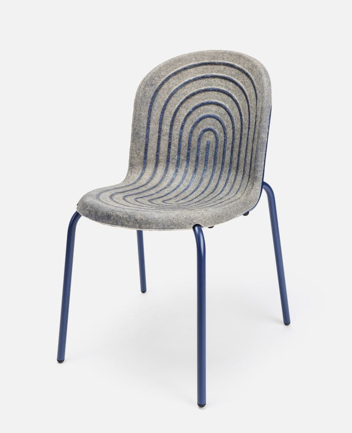 """Chair with seating made with hemp panel bonded together with a casein-based glue.<span class=""""sr-only""""> (opened in a new window/tab)</span>"""