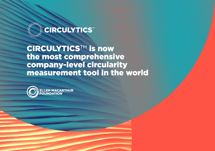 """Graphic reporting the quote: """"CIRCULYTICS is now the most comprehensive company-level circularity measurement tool in the world"""".<span class=""""sr-only""""> (opened in a new window/tab)</span>"""
