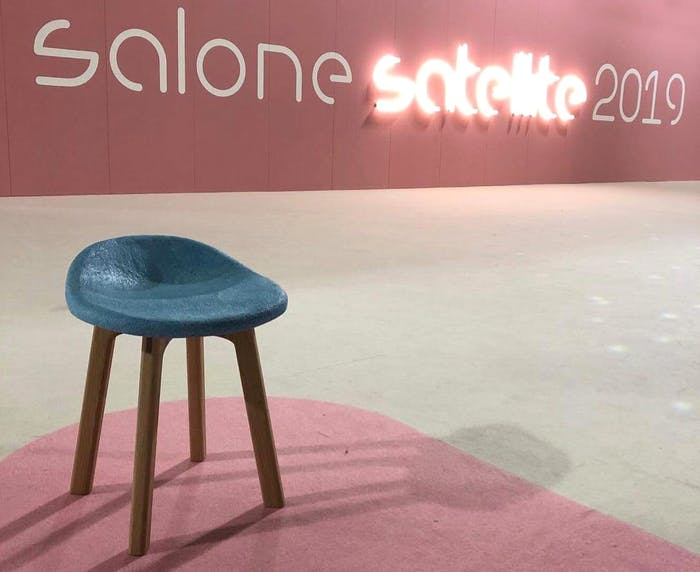 """View of the SaloneSatellite entrance.<span class=""""sr-only""""> (opened in a new window/tab)</span>"""