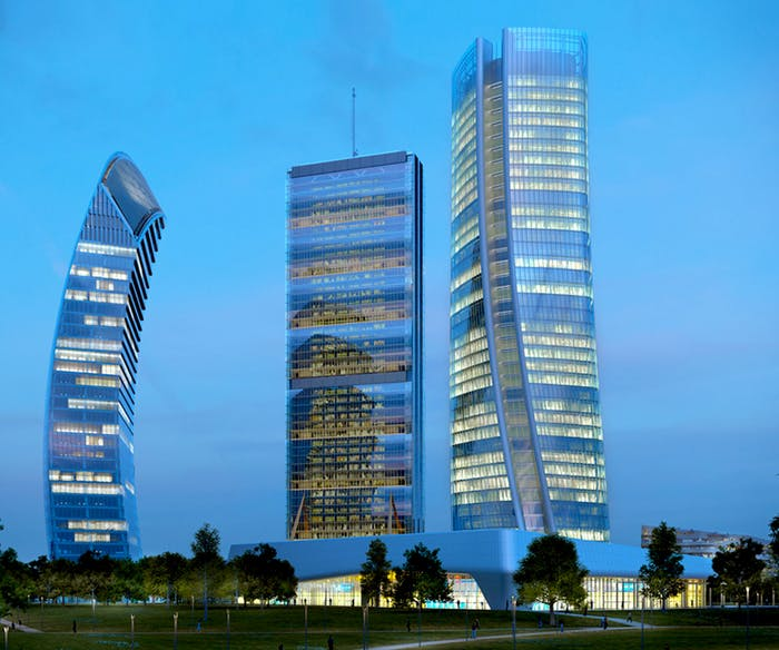 "Skyline of Milan with the addition of the Three Towers in CityLife.<span class=""sr-only""> (opened in a new window/tab)</span>"