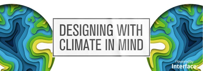 """Graphic of Designing with Climate in Mind.<span class=""""sr-only""""> (opened in a new window/tab)</span>"""