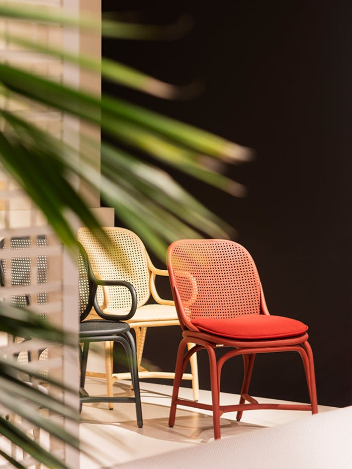 """Frames chairs, example of modern Vienna straw design by Jaime Hayon for Expormim.<span class=""""sr-only""""> (opened in a new window/tab)</span>"""