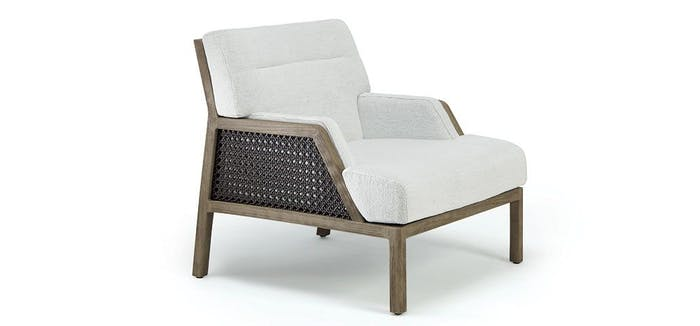 """Grand Life chair, example of modern Vienna straw design by Christophe Pillet for Ethimo.<span class=""""sr-only""""> (opened in a new window/tab)</span>"""