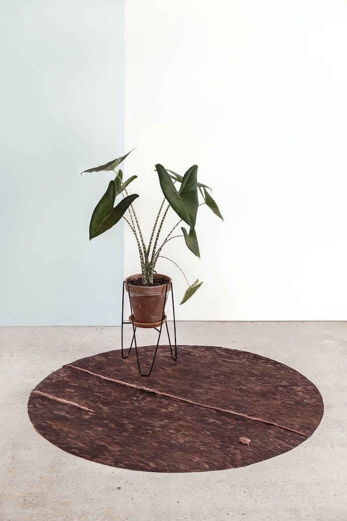 """PineSkins round rug.<span class=""""sr-only""""> (opened in a new window/tab)</span>"""