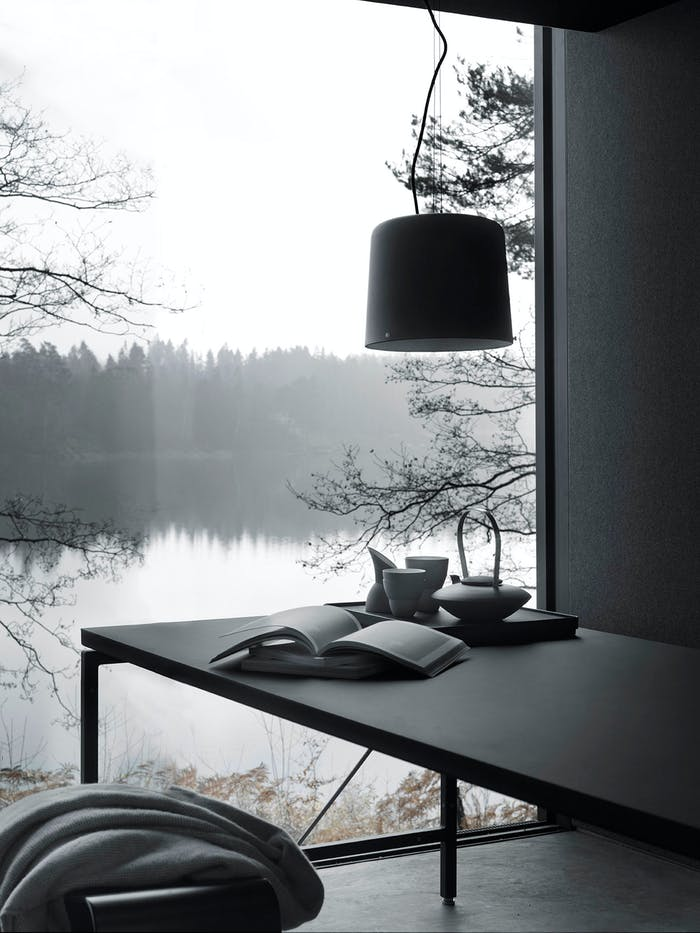 """The lake view seen from the living area.<span class=""""sr-only""""> (opened in a new window/tab)</span>"""