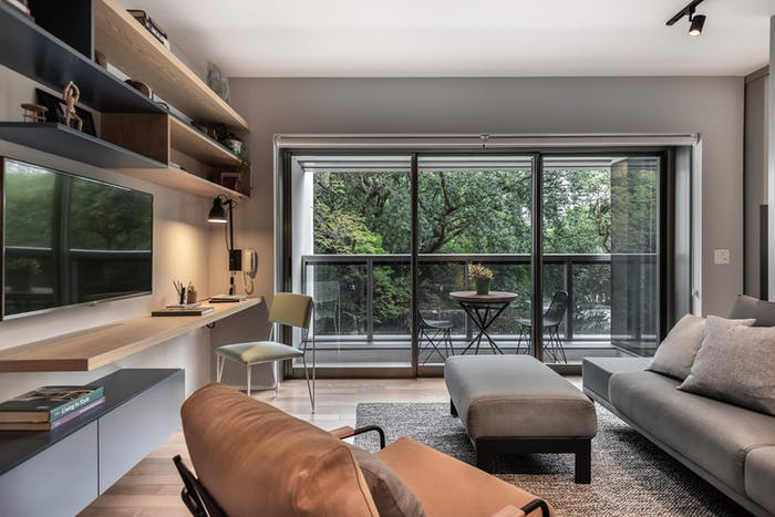 """Biophilic living room.<span class=""""sr-only""""> (opened in a new window/tab)</span>"""
