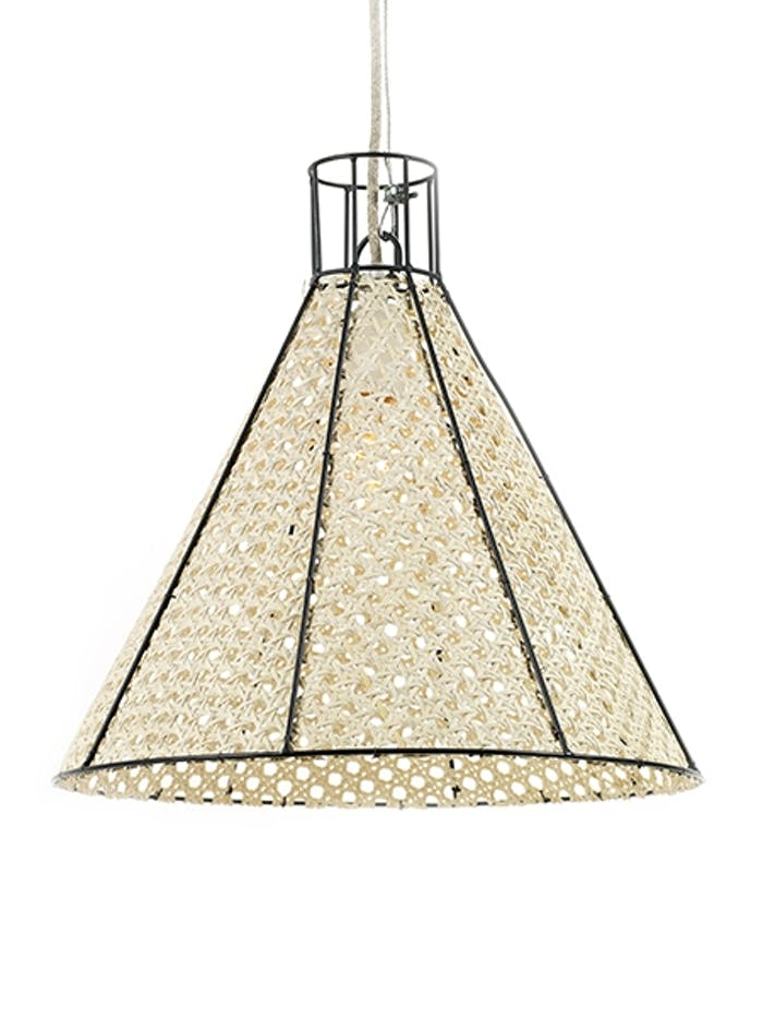 """Straw pendant light, example of modern Vienna straw design by Colonel Studio for Serax.<span class=""""sr-only""""> (opened in a new window/tab)</span>"""