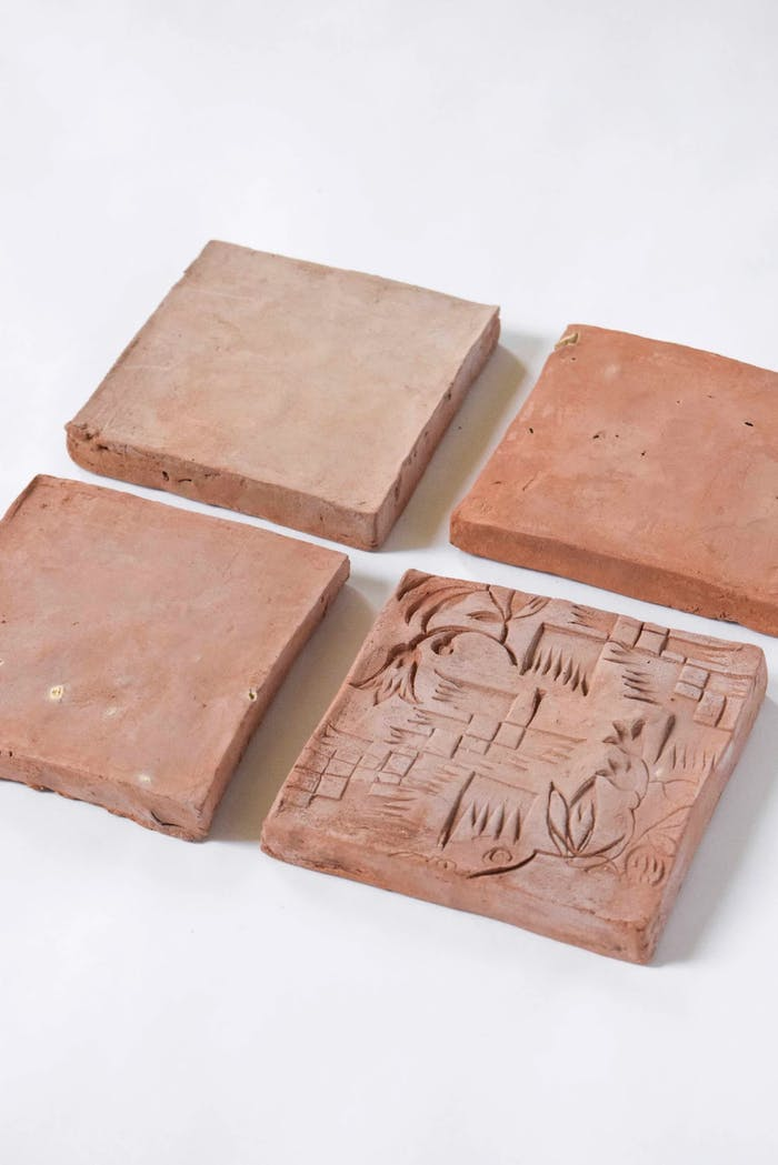 """Sustainable tiles made of ocean sediment.<span class=""""sr-only""""> (opened in a new window/tab)</span>"""