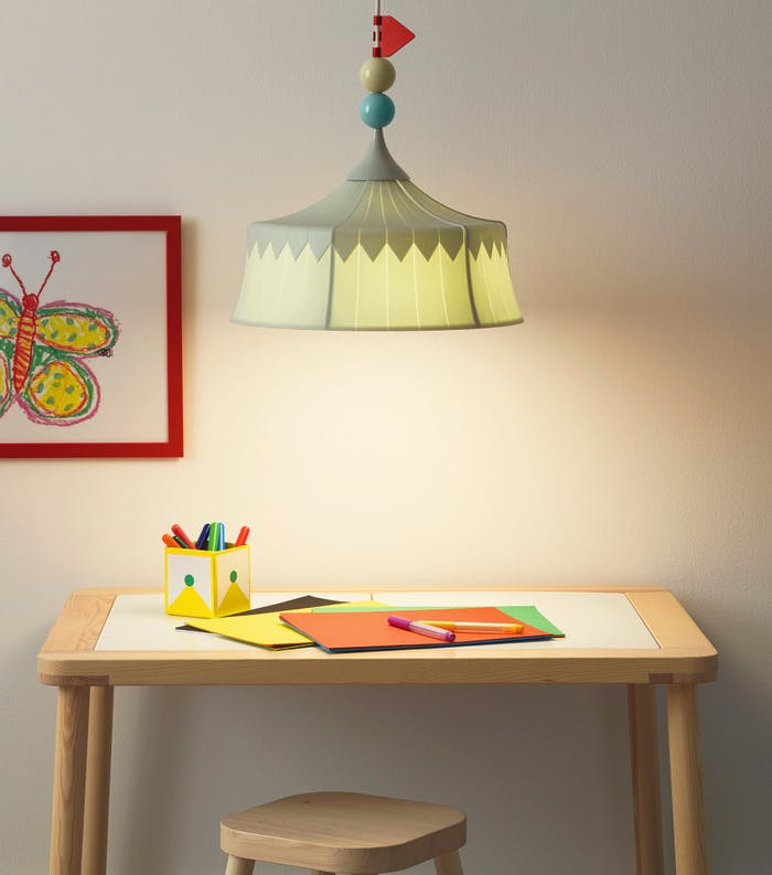 "Pendant lamps for children made with PET bottles.<span class=""sr-only""> (opened in a new window/tab)</span>"