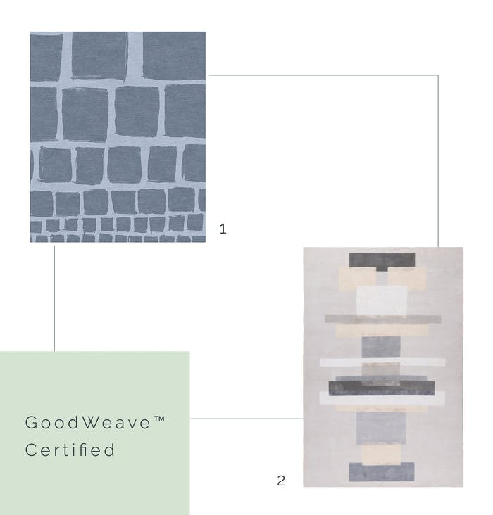 """GoodWeave™ certified rugs.<span class=""""sr-only""""> (opened in a new window/tab)</span>"""