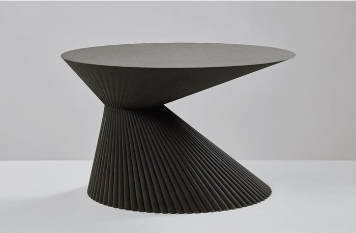 "3D printed sand side table.<span class=""sr-only""> (opened in a new window/tab)</span>"