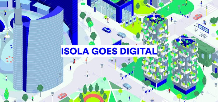 "Graphic of Isola Goes Digital.<span class=""sr-only""> (opened in a new window/tab)</span>"