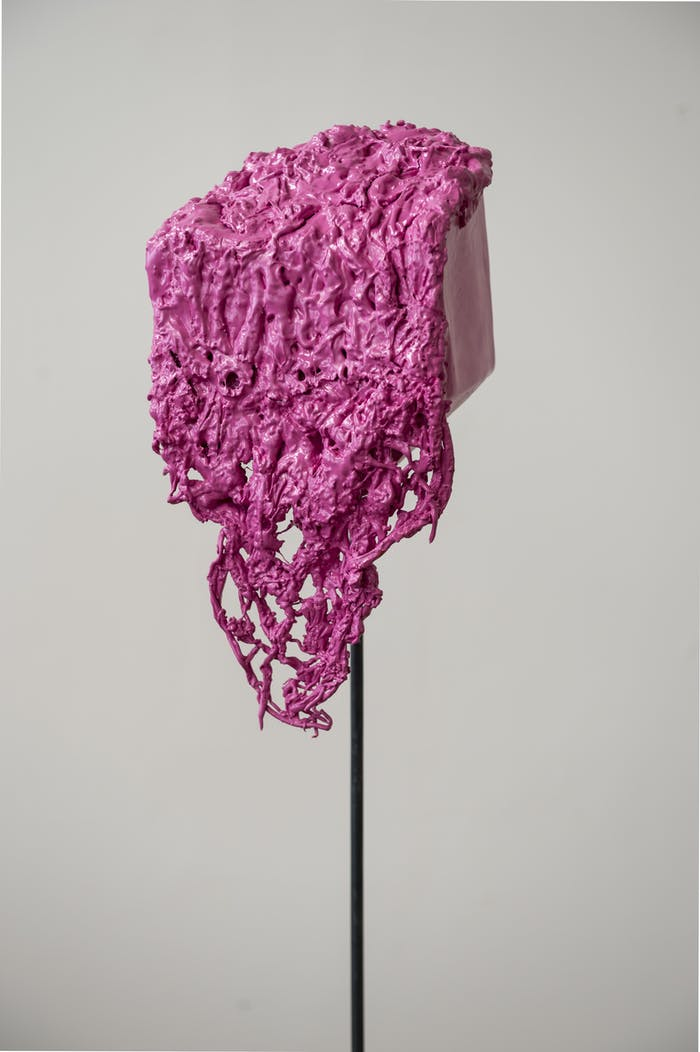"Sculpture made of plastic waste.<span class=""sr-only""> (opened in a new window/tab)</span>"