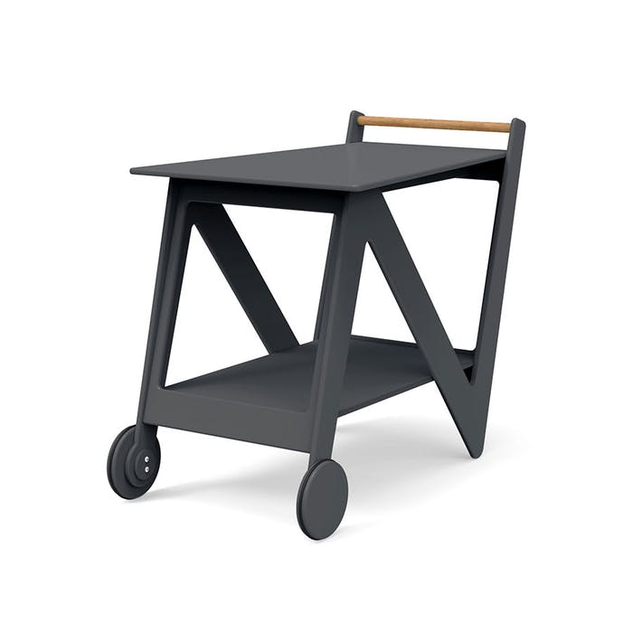 """Recycled plastic bar cart.<span class=""""sr-only""""> (opened in a new window/tab)</span>"""