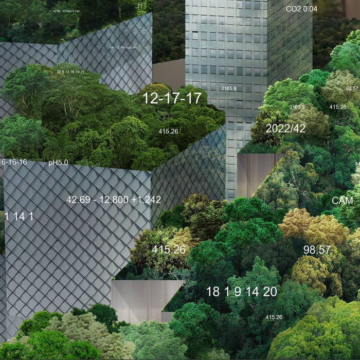 """Close-up of green roofs.<span class=""""sr-only""""> (opened in a new window/tab)</span>"""