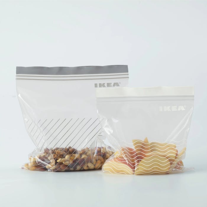 "Ikea refrigerator bag ISTAD, made out of renewable materials to help sustainable living.<span class=""sr-only""> (opened in a new window/tab)</span>"