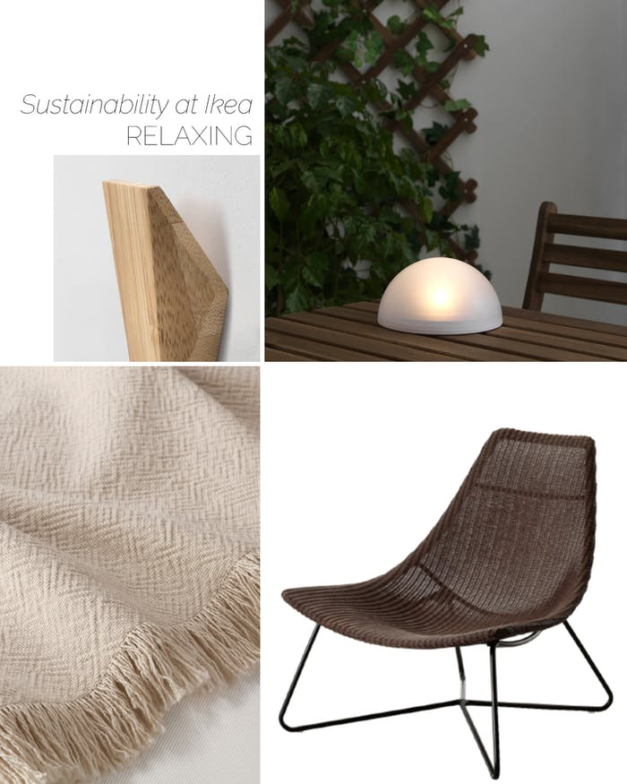 "Ikea lounging products helping sustainable living.<span class=""sr-only""> (opened in a new window/tab)</span>"