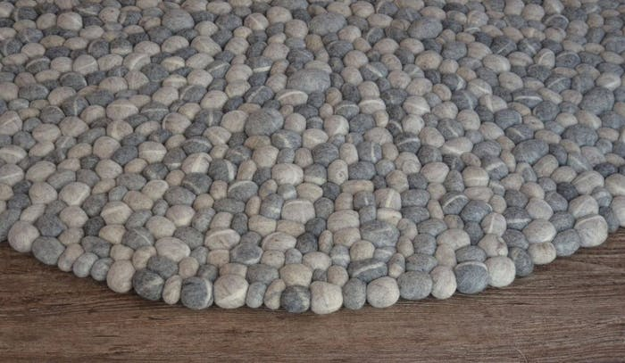 """Felt stone rug.<span class=""""sr-only""""> (opened in a new window/tab)</span>"""