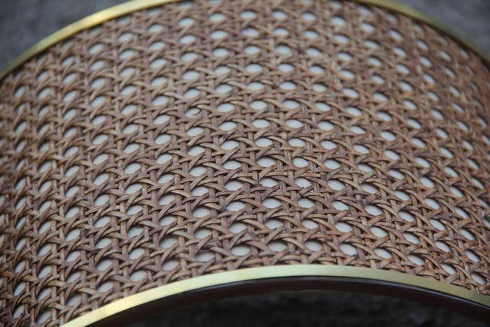 """Close-up view of Vienna straw texture.<span class=""""sr-only""""> (opened in a new window/tab)</span>"""