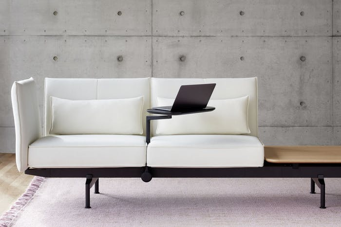 """Sofa with integrated small desk.<span class=""""sr-only""""> (opened in a new window/tab)</span>"""